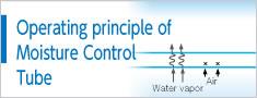 Operating principle of Moisture Control Tube