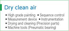 Dry clean air