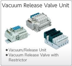 Vacuum Release Valve Units