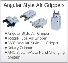 Angular Type Air Grippers