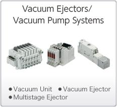 Vacuum Ejectors (Vacuum Generators)/Vacuum Pump Systems