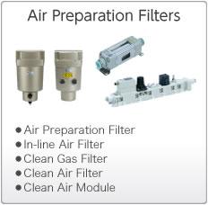 Air Preparation Filters