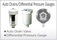 Auto Drains/Differential Pressure Gauges