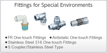 Fittings for Special Environments