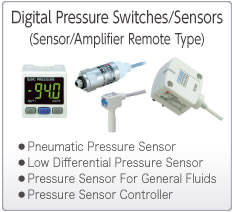 Electronic Pressure Switches/Sensors (Remote Type)