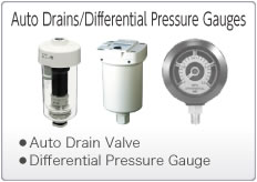 Auto Drains/Differential Pressure Gauges