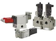 SMC带主阀位置检测功能的3通残压排气阀 VP/VG